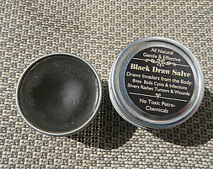 Black Draw Salve~ Pulls infections & growths out, Naturally Effective 2 oz.