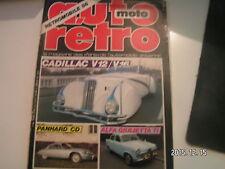 ** Auto Moto Retro n°67 Panhard CD 1962 - 1965 / Alfa Roméo Giulietta Ti