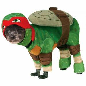 TMNT Ninja Turtle Pet Dog Raphael Halloween Costume Large Beagle Corgi