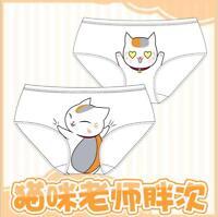 Anime Natsume Yuujinchou Madara Underwear Panties Underpants Cute Girl Briefs