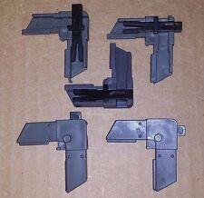 Screen Frame Stop Corner w/ Slide Lock, Bronze Plastic - 100 pack