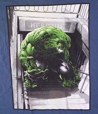 Marvel Mad Engine Hulk Men's Blue T-Shirt Size Large NWT
