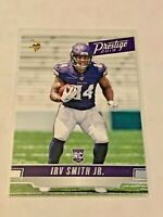 2019 Panini Prestige Football Rookie - Irv Smith Jr RC - Minnesota Vikings