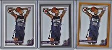 WILLIE CAULEY-STEIN 2015-16 COMPLETE LOT (3) GOLD SILVER PARALLEL INSERT BASE RC