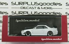 Ignition Model 1:64 Scale White NISSAN Nismo R34 GT-R GTR Z-tune IG1868 #1868