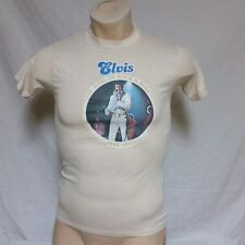 VTG 1977 Elvis Presley T Shirt Rock And Roll 70s Tee Thin Concert Tour Small