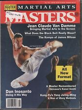 Martial Arts Masters May 1992 Jean Claude Van Damme, Dan Inosanto VG 021616DBE