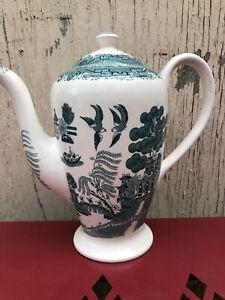 Victoria Porcelain FENTON Willow Coffee Pot