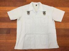 Guayabera Regular Fit Casual Shirts for Men
