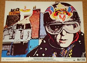 BEATLES: YELLOW SUBMARINE (1968) - VERY RARE original US 8x10 lobby card #4