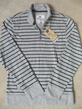 Men's Striped Collared Jumpers & Cardigans