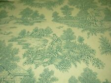 "~7 5/8 YDS~""ISABELLA VICTORIAN TOILE""~DRAPERY COTTON UPHOLSTERY FABRIC FOR LESS~"