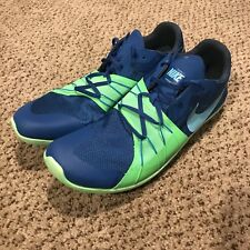 Nike Zoom Forever XC 5 Blue/Green - Victory XC Track Shoes 904723-403 Size 10