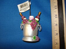 Wine Ornament Ice Bucket Red  D0814  33