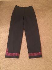 Loft Ann Taylor Size 2 Black Decoration Lining Pant Women's