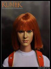 1/6 Kumik Accessory Resident Evil Milla Jovovich Head KM15-6 For Hot Toys Body