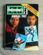 The Professionals Annual 1982 Vintage ITV Television Hardback