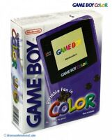 Nintendo GameBoy Color - Konsole #Lila/Purple/Grape mit OVP