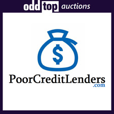 PoorCreditLenders.com - Premium Domain Name For Sale, Namesilo