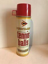 Vintage Quart Thermos Dunlop Tennis Balls