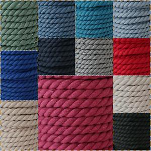 1 Meter Kordel, gedrehte Kordel, Meterware, 10mm Breite - verschiedene Farben