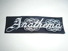 ANATHEMA EMBROIDERED LOGO DOOM DEATH METAL PATCH