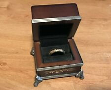 """Lord of the Rings """"The One Ring"""" 10K Gold by Noble Collection"""