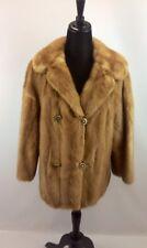 Vintage Brandenburg Furs Mink Jacket Light Brown/Chestnut