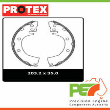 New *PROTEX* Brake Shoes - Rear For MITSUBISHI CORDIA AC 2D L/B FWD..