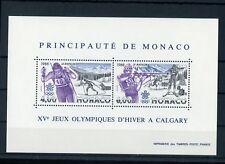 MONACO Bl.38 ** OLYMPISCHE SPIELE 1988 (100047)