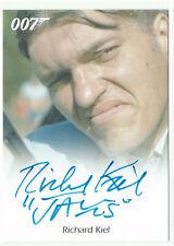 James Bond Archives Final Edition 2017 Autograph Card Richard Kiel as Jaws