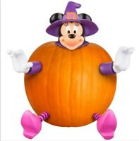 Disney Minnie Mouse Push-in Pumpkin Decorating Kit.