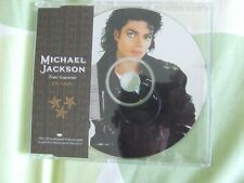 MICHAEL JACKSON PICTURE CD SINGLE TOUR SOUVENIR BAD WITH INSERT