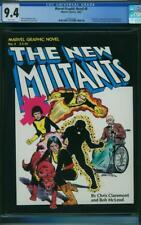 Marvel Graphic Novel #4 CGC 9.4 1982 1st New Mutants! Magazine! White! K4 191 cm