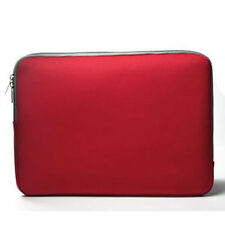 "RED Zipper Sleeve Bag Case Cover for All Laptop 13"" Macbook / Pro / Air"