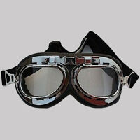 MOTORRADBRILLE (Fliegerbrille) Vintage für Helmet goggles/Lunettes Moto/Pilot