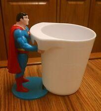 "Superman Figural Cup Holder, 1988 DC Comics, Nice, MINT!  4 1/2"""