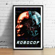 Robocop OCP Ed-209 11 x 17 Movie Poster Horror Art Poster Mondo style