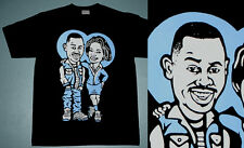 New Martin & Gina She Match my Fly tshirt legend blue jordan 11  cajmear sz L