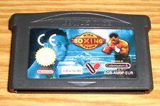 Nintendo Gameboy Advance GBA/SP juego * mike tyson boxing * módulo de juego