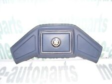 85-88 CADILLAC DEVILLE FLEETWOOD FWD STEERING WHEEL HORN PAD BLUE W/ GOLD EMBLEM