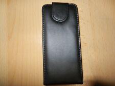 Nokia x6 x6-00 Flip Aimants étui Pour Téléphone Portable Sac Black Sac en cuir Housse NOIR