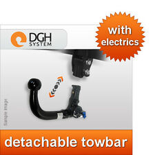 Car tow bars ebay detachable towbar vertical dacia duster 2013 2015 13 pin electric kit publicscrutiny Gallery