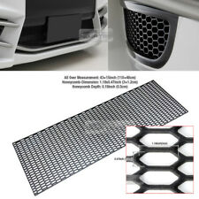 "5_Black Honeycomb Hexagon Mesh ABS Grille Fog Custom DIY Kit 43""x15"" for GMC Car"