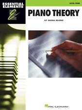 Essential Elements Piano Theory Level 4 Educational Piano Library 000296929