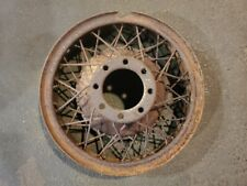19x5 Original 1930 - 1931 Cadillac 353 & 452 V8 A Type Wire Wheel 8 Lug (002)