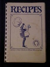 The Children's Home Society of Missouri Cookbook, Brentwood MO