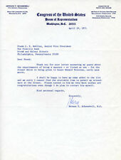 HERMAN T. SCHNEEBELI - TYPED LETTER SIGNED 04/19/1971