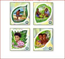 VAN0205 Renewal of rain forest 4 stamps