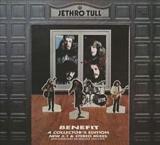 Benefit [Deluxe Edition] [2CD/1DVD] [Digipak] by Jethro Tull (CD, Oct-2013, 3 Di